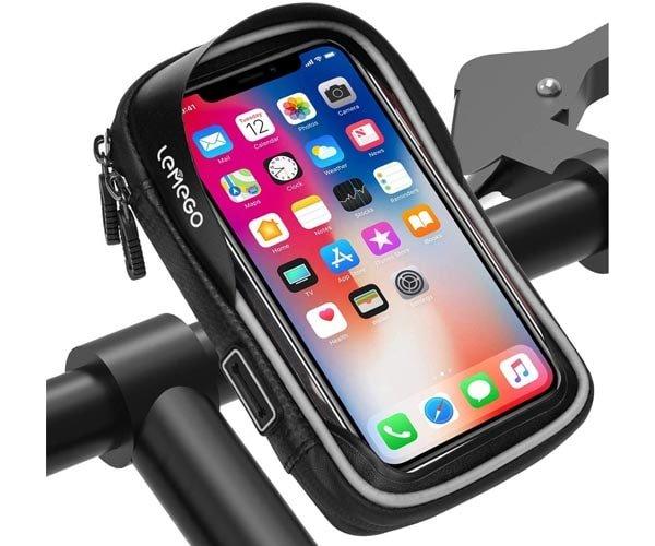 Bolsa para manillar de bicicleta