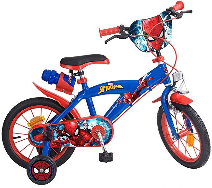 Bicicleta para niño de Spiderman