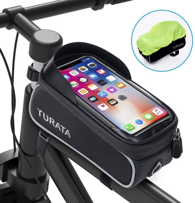 Bolsa de ciclismo para cuadro de bicicleta