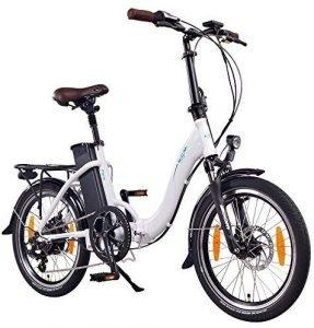 NMC Paris bicicleta de paseo plegable