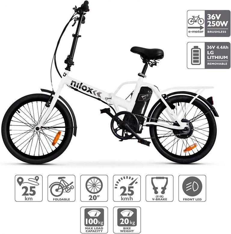 Nilox X1 bicicleta de paseo eléctrica