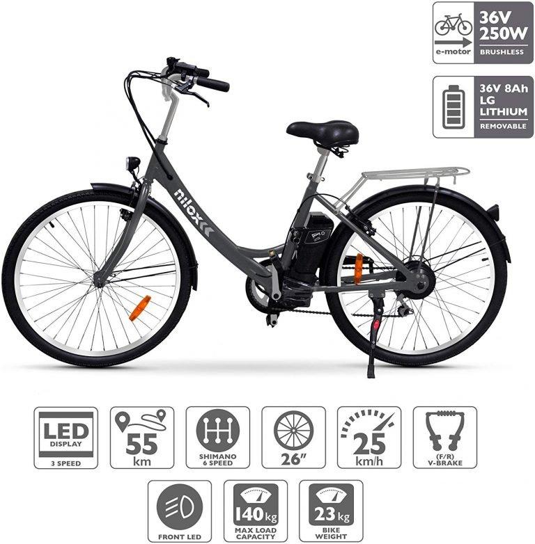 Nilox X5 bicicleta de paseo eléctrica
