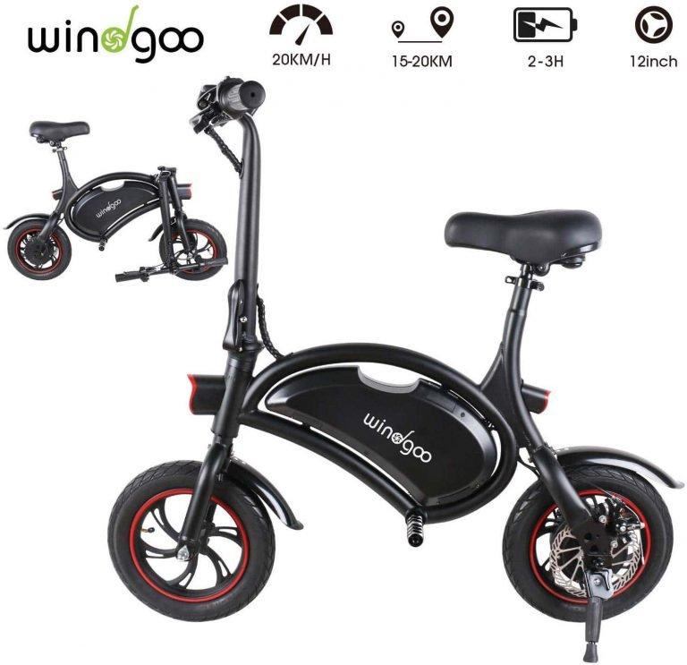 Windgoo bicicleta eléctrica urbana