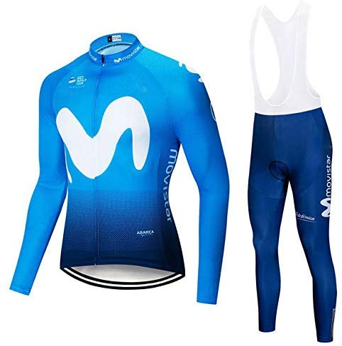 Equipación larga Movistar Team (maillot + culote)