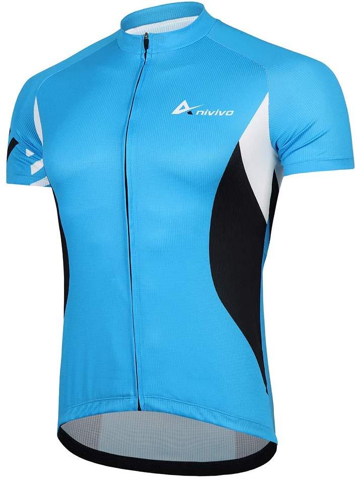 Maillot azul Beroy ciclismo