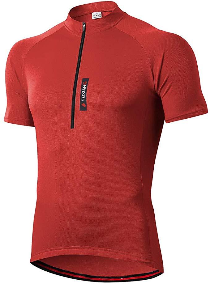 Maillot feixiang ciclismo rojo