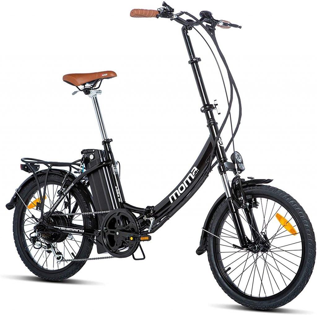 Moma E bike 20: bicicleta eléctrica barata