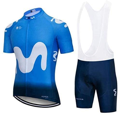 Maillot y culote Movistar Team