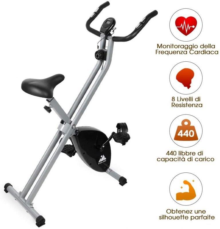 Bicicleta estática barata Evoland