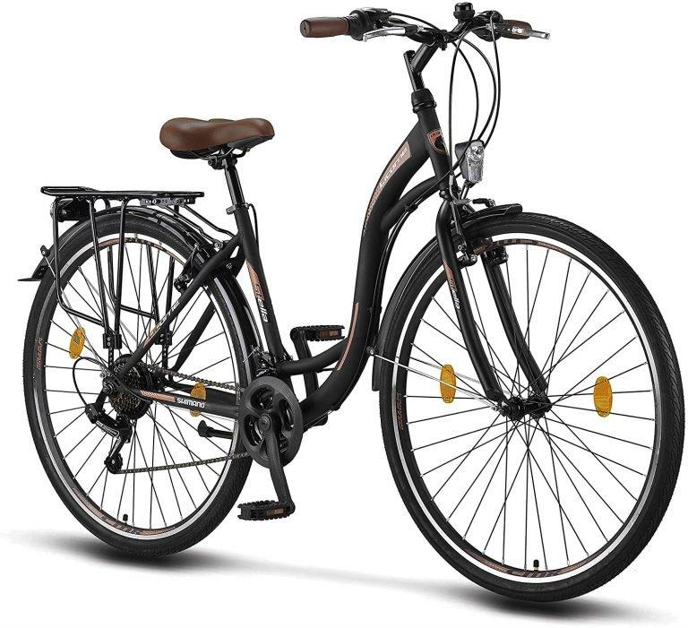 Bicicleta de paseo mujer urbana