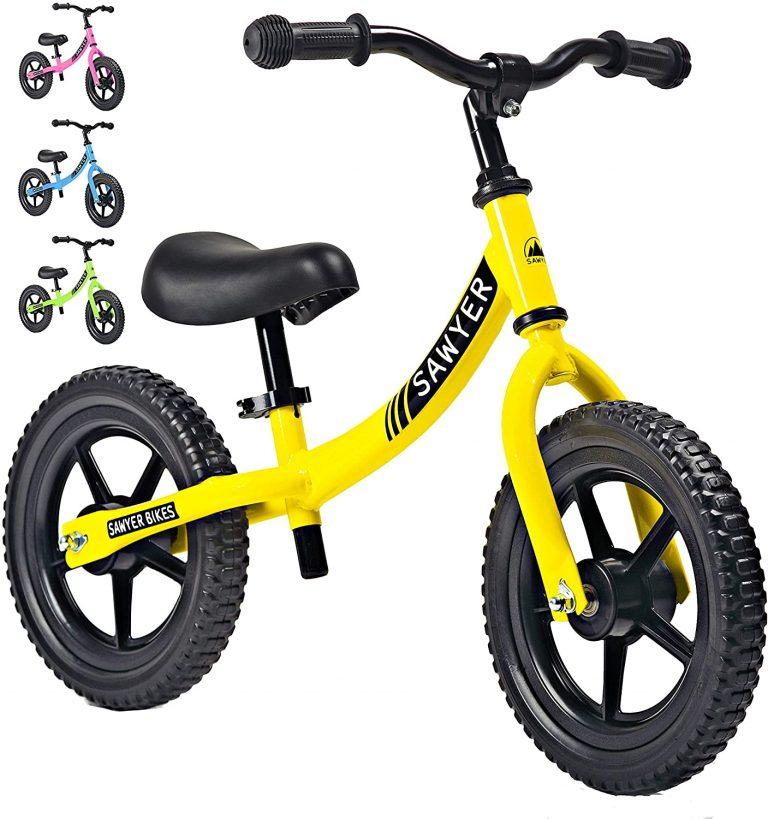 Bicicleta sin pedales para 2-4 años