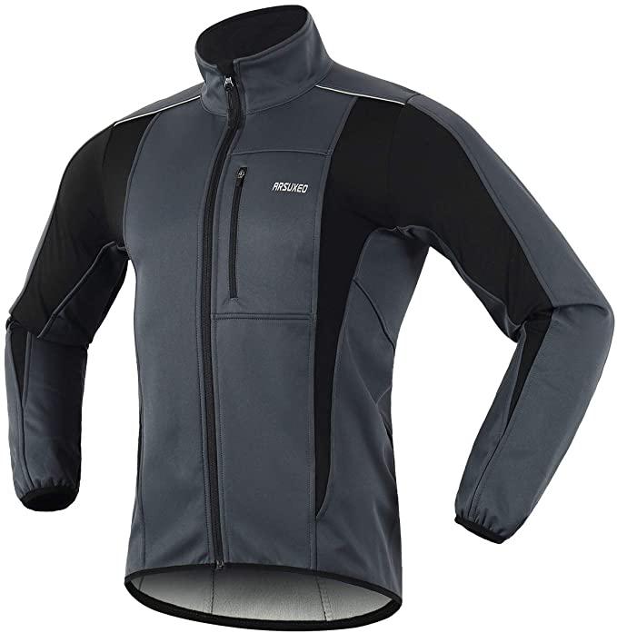 Chaqueta de ciclismo para invierno transpirable