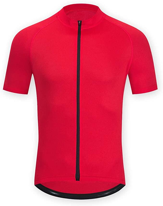 Maillot Ciclismo para Hombre Camiseta Ciclismo Manga CortaTranspirable
