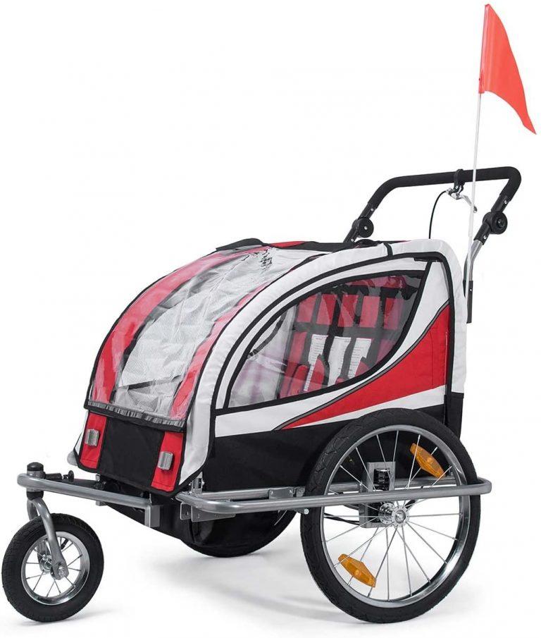 SAMAX Remolque de Bicicleta para Niños 360° girable