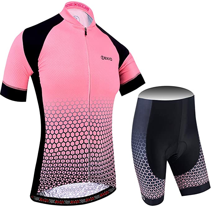 Conjunto ropa ciclismo de mujer